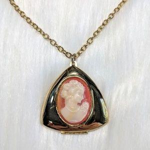 Jewelry - Cameo Locket Necklace